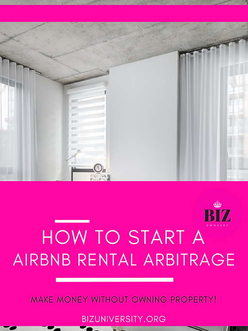 Step by step guide to starting an Airbnb Arbitrage