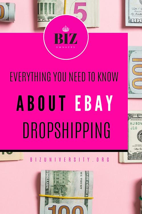 Ebay Dropshipping Guide