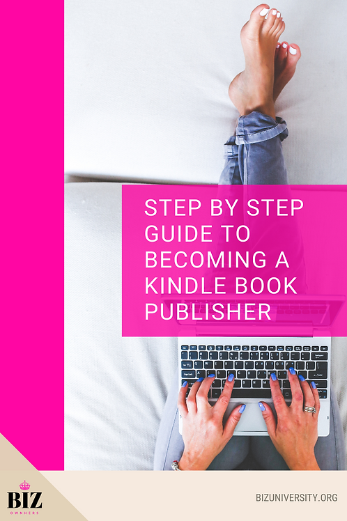 Step by step guide to Kindle Publishing
