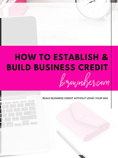 How to Establish & Build Business Credit