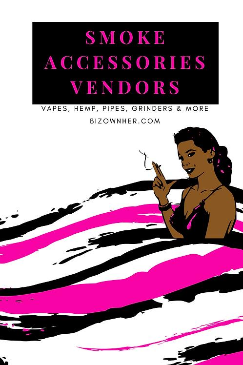 Smoke Accessories Vendor List