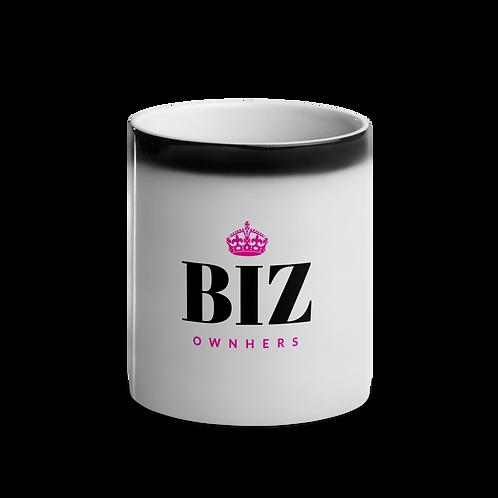 Glossy Black Magic Mug