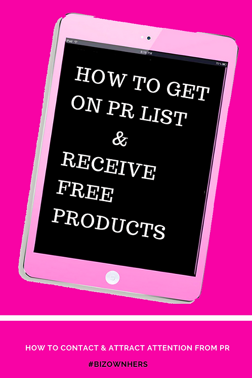 How to get on PR List