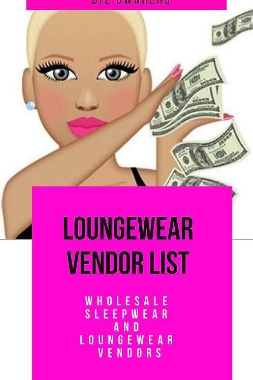 Loungewear Vendors
