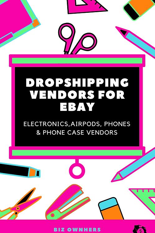 Dropshipping Vendors for Ebay