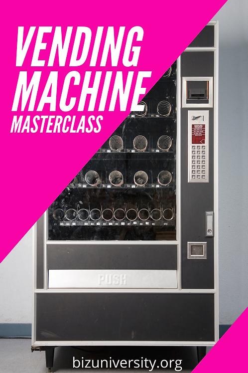Vending Machine Masterclass