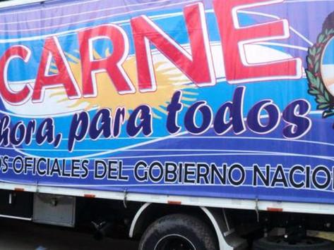 Camión de carnes para todos y atención oftalmológica gratuita