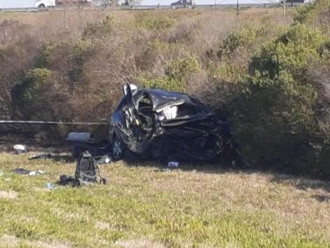Una mujer y un bebé fallecieron en un accidente por autopista