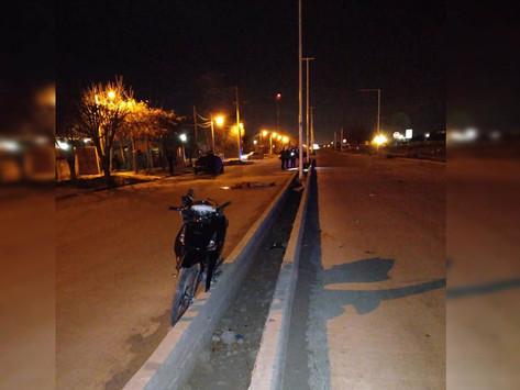 Una pareja de motociclistas murió en la avenida Interurbana