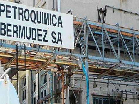 """Petroquímica Bermúdez: """"La contaminación es fenomenal y probablemente no pueda remediarse"""""""