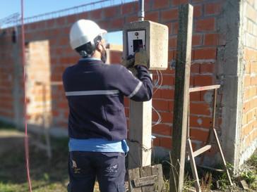 La EPE detectó conexiones irregulares en Tierra de Sueños III de Puerto San Martín
