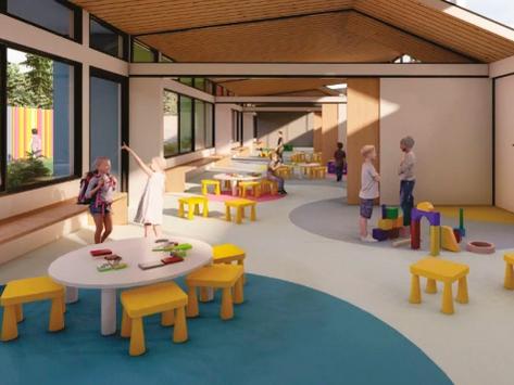 Fray Luis Beltrán tendrá un moderno nuevo jardín de infantes