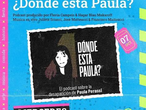 Presentación de ¿Dónde Está Paula? en Capitán Bermúdez