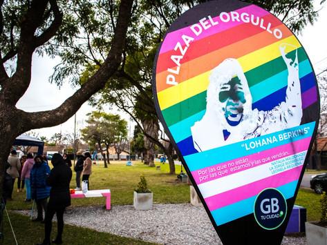 Baigorria: Inauguraron una plaza que simboliza la lucha LGBTIQ+