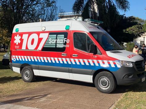 Provincia entregó ambulancia de alta complejidad a San Lorenzo