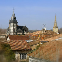 View from Chambre Jardin