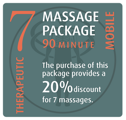 Mobile Package 7 Therapeutic - 90 minute
