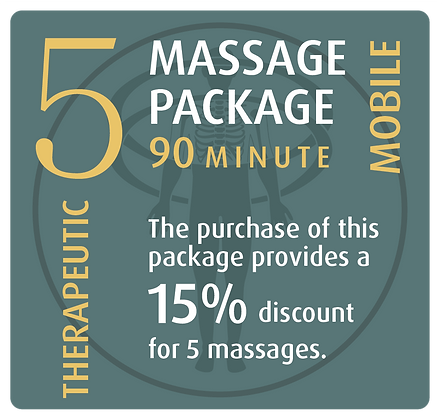 Mobile Package 5 Therapeutic - 90 minute
