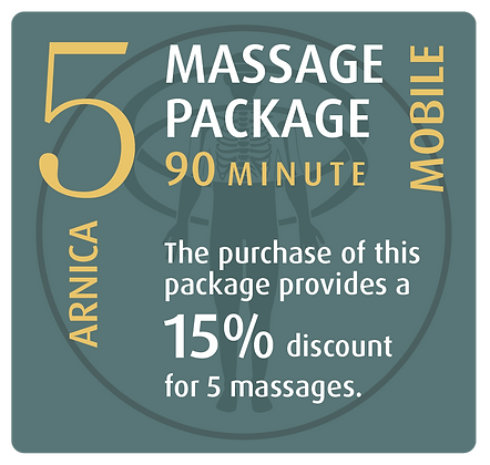 Mobile Package 5 Arnica - 90 minute