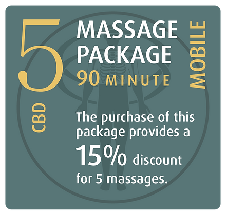 Mobile Package 5 CBD - 90 minute