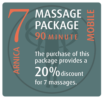 Mobile Package 7 Arnica - 90 minute