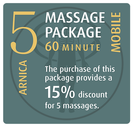 Mobile Package 5 Arnica - 60 minute