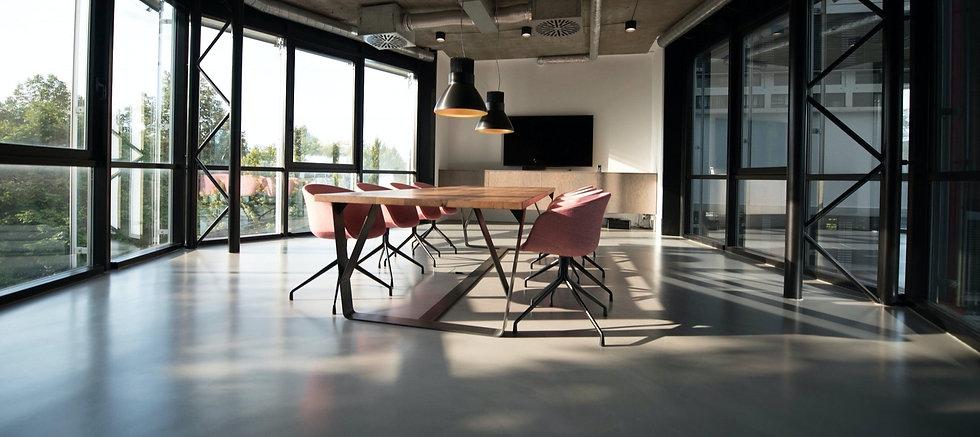 Industrial Style Boardroom