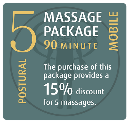 Mobile Package 5 Postural - 90 minute