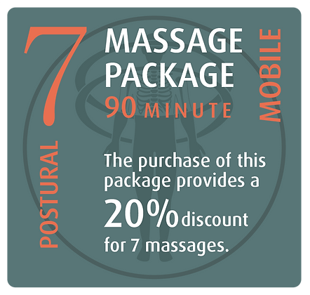 Mobile Package 7 Postural - 90 minute