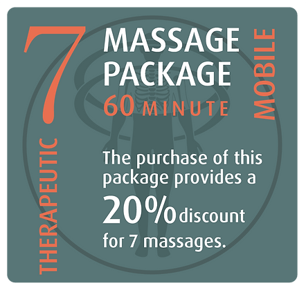 Mobile Package 7 Therapeutic - 60 minute
