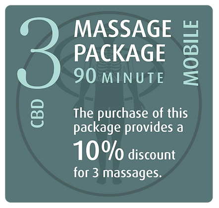 Mobile Package 3 CBD - 90 minute