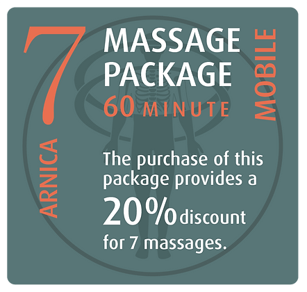 Mobile Package 7 Arnica - 60 minute