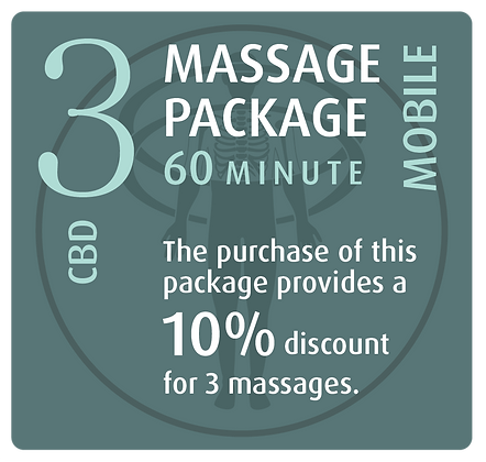 Mobile Package 3 CBD - 60 minute