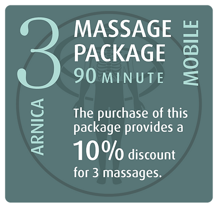 Mobile Package 3 Arnica - 90 minute