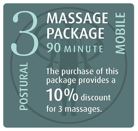 Mobile Package 3 Postural - 90 minute