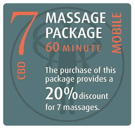 Mobile Package 7 CBD - 60 minute
