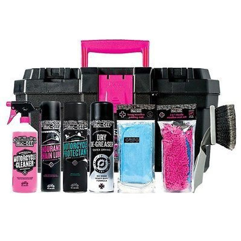 Muc-Off 3 step Motorcycle kit M685
