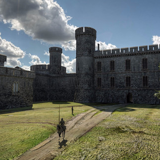 Beaumaris Castle, North Wales.