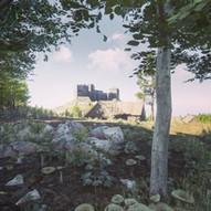 Criccieth Castle, North Wales.