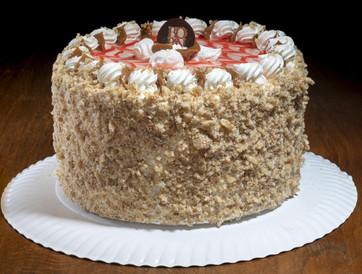 Torta Macarrón Guinda