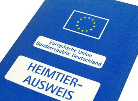 Regelungen für Reisen mit Hunden, Katzen und Frettchen innerhalb der EU