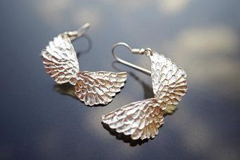 Wing Drop Earrings