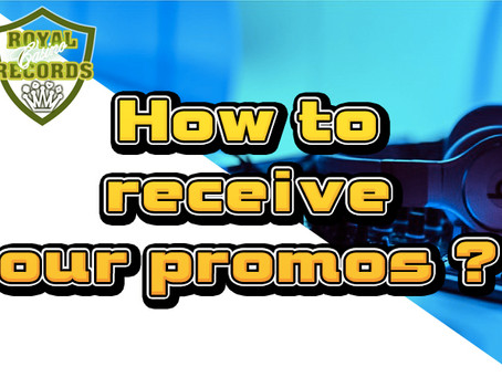 HOW TO RECEIVE OUR PROMOS ?