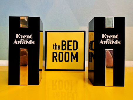Techne Sce with the Bedroom Project awarded twice at Event Awards 2019