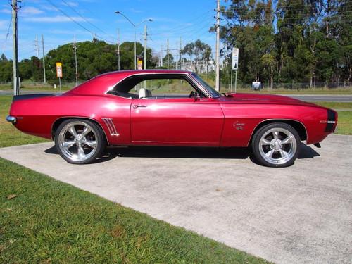1969 Camaro, Garnet Red, 496 Auto