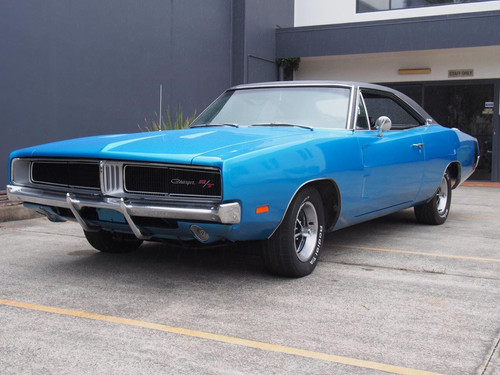 1969 Dodge Charger, 383 Auto