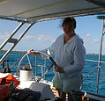 Lisa at the helm - Bahamas.jpg