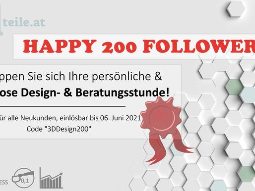 200 LinkedIn-Follower!