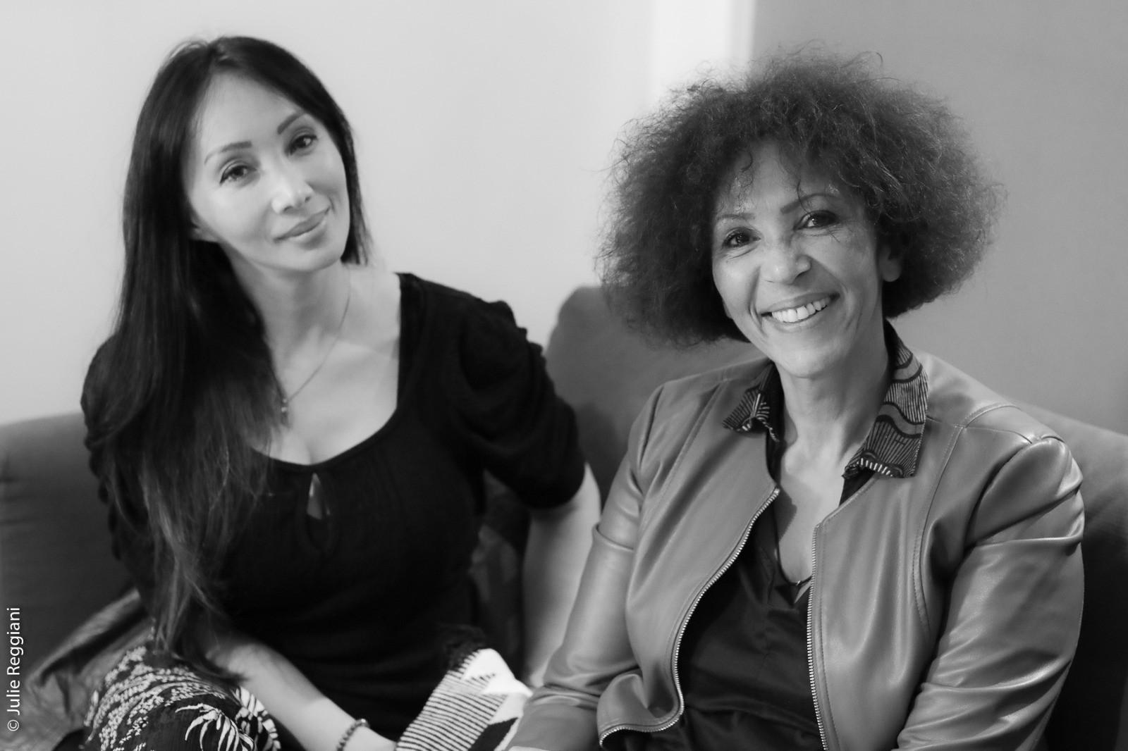 Celine Tran et Virginie Servaes à l'Atelier des Femmes Leaders.