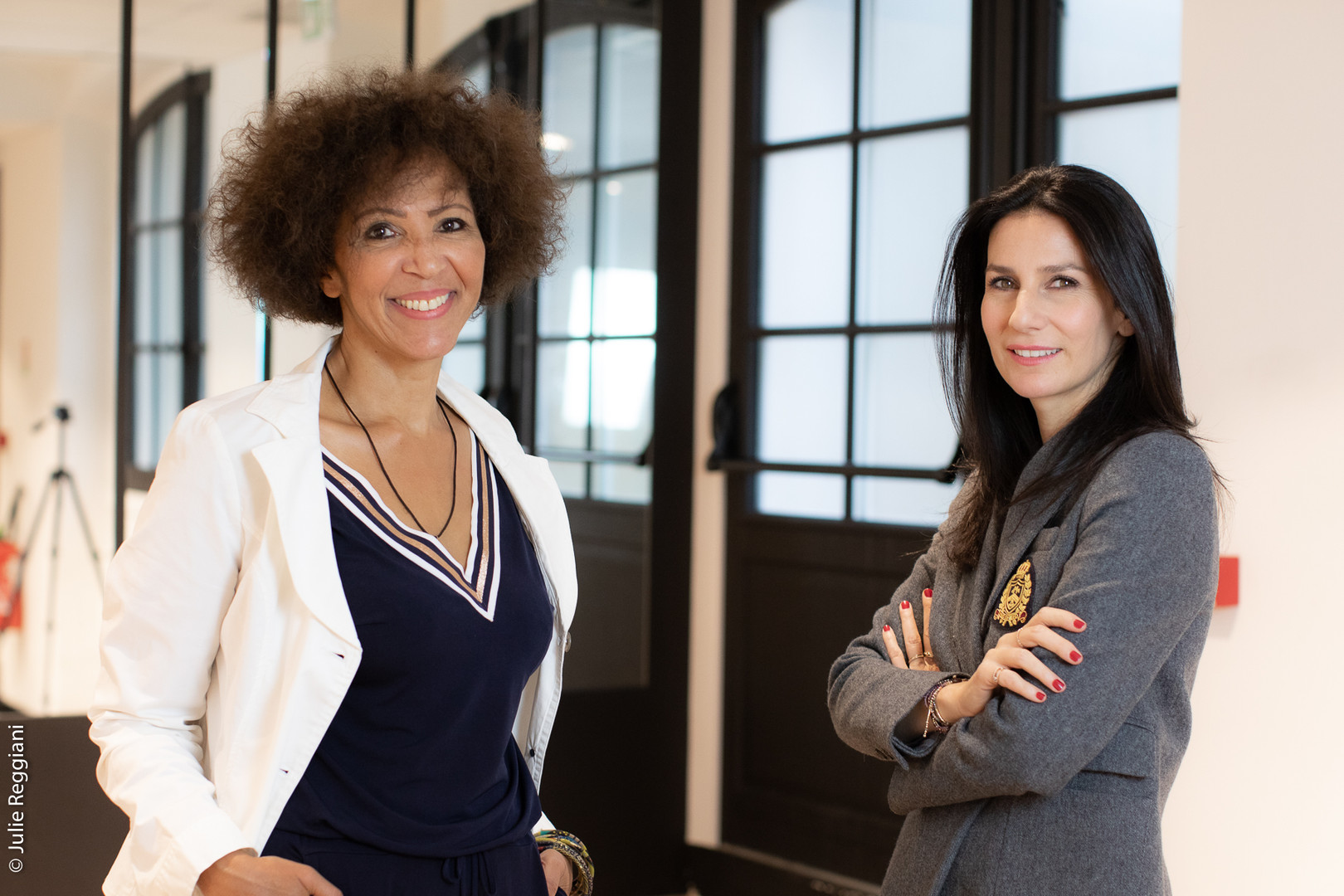 Marie Drucker et Virginie Servaes à l'Atelier des Femmes Leaders 2020